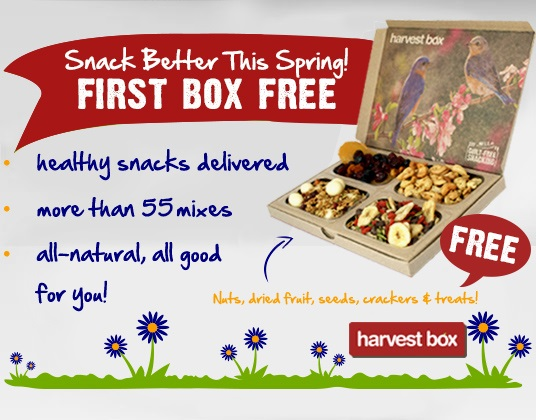Harvest box free offer