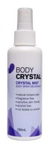 crystal, deodorant, natural, chemical free